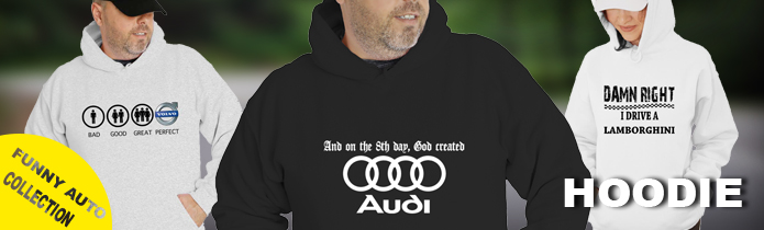 Funny Auto Hooded Sweatshirt