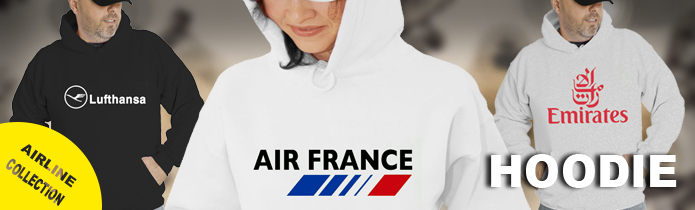Airline Hooded Sweatshirts