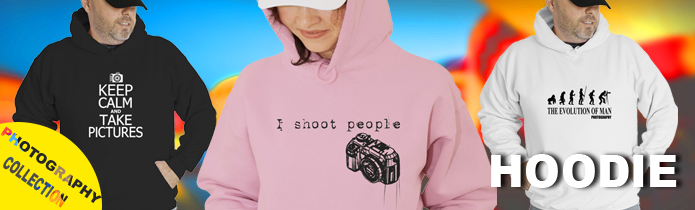 Photography Hooded Sweatshirts