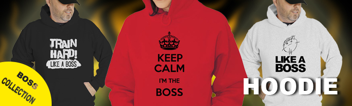 Boss Hooded Sweatshirts