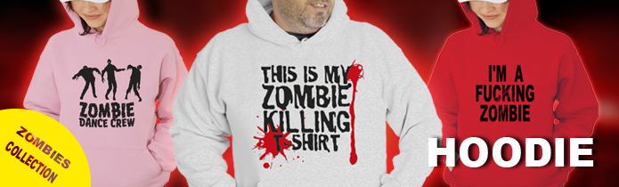Zombies Hooded Sweatshirts