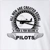 All Men Are Created Equal Pilots Long Sleeve T-shirt