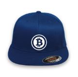 BITCOIN Logo Flex-Fit Style Hat