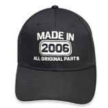 10th Anniversary Made In 2006 All Original Parts Hat Cap