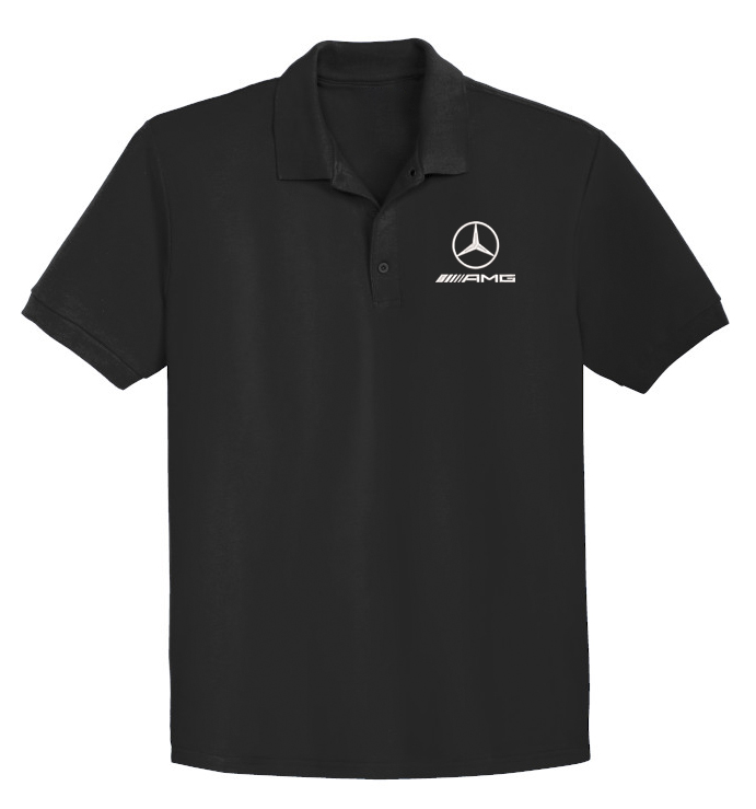 Mercedes-Benz AMG POLO T-Shirt Embroidery