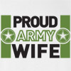 Proud Army Wife Army Strong T Shirt