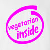 Vegetarian Inside T Shirt