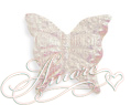 White Iridescent Silk Butterflies Wedding 600