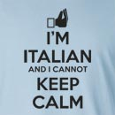 I'm Italian And I Cannot Keep Calm Long Sleeve T-Shirt