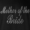 Mother of the Bride Rhinestones Wedding Crew Neck Sweatshirt