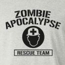 Zombie Apocalypse Rescue Team Long Sleeve T-Shirt