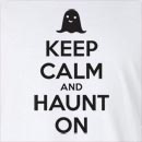 Halloween Keep Calm And Haunt On Long Sleeve T-Shirt