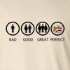 Bad Good Great Perfect Life - Cadillac Long Sleeve T-Shirt