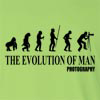 The Evolution Of Man Photography Long Sleeve T-Shirt
