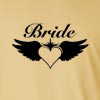 Bride Wings Long Sleeve T-Shirt