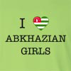 I love Abkhazian Girls Long Sleeve T-Shirt