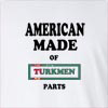 American Made Of Turkmenistan Parts Long Sleeve T-Shirt