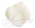 Silk Rose Petals Light Ivory