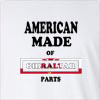 American Made Of Gibraltar Parts Long Sleeve T-Shirt