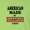 American Made of Abkhazian Parts Long Sleeve T-Shirt