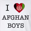 I Love Afghanisthan Boys Long Sleeve T-Shirt