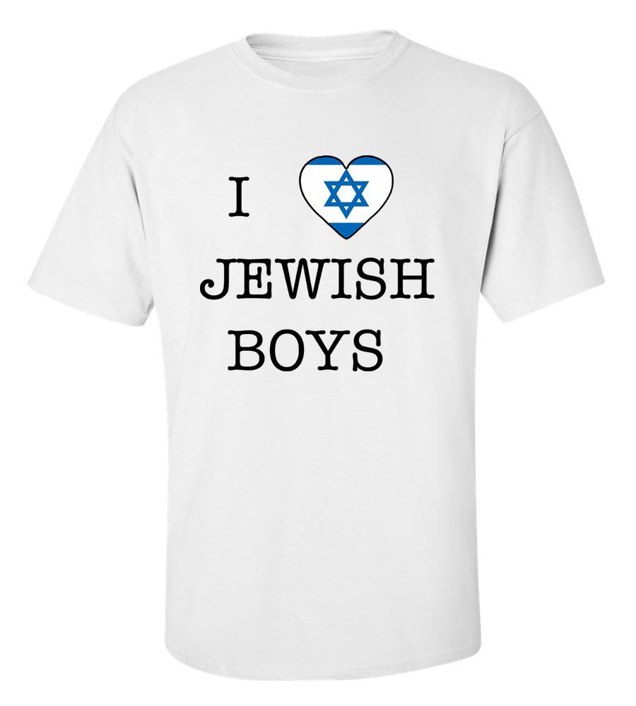 6f5e309a I Love Jewish Boys T-Shirt