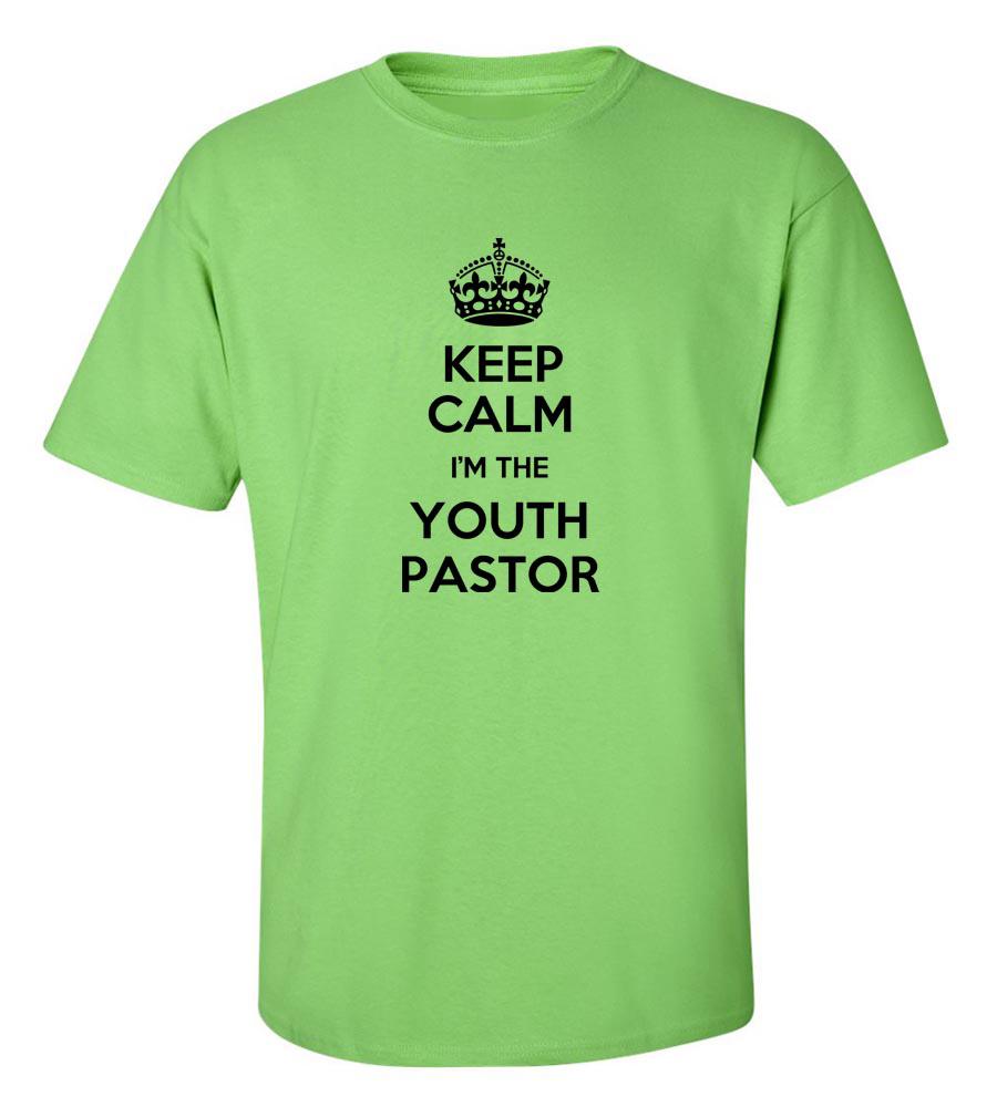 d783da92fa Keep Calm I'm The Youth Pastor Funny T Shirt