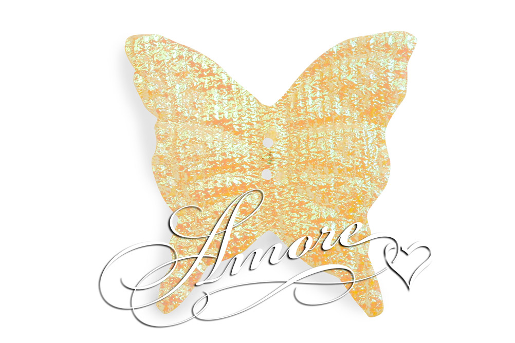 Yellow Iridescent Silk Butterflies Wedding 200